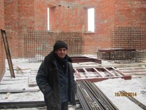Почетный строитель России В.Г.Сыбачин