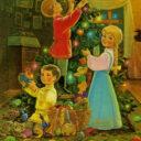 В Юго-Западном благочинии г. Саранска объявлен детский конкурс «Рождественская сказка»