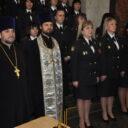 В Саранске состоялась торжественная церемония прибивки полотнища знамени Управления Федеральной службы судебных приставов по Республике Мордовия к древку
