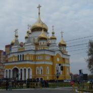Патриаршее богослужение в храме святых равноапостольных Мефодия и Кирилла, учителей Словенских