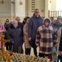 В храме святых Мефодия и Кирилла прошла экскурсия для незрячих